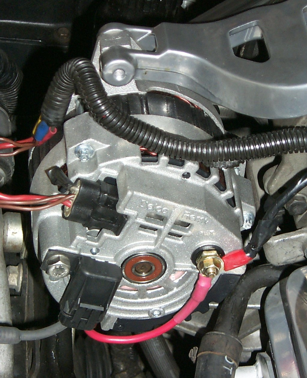 Chevy Truck Wiring Diagram Moreover 350 Chevy One Wire Alternator