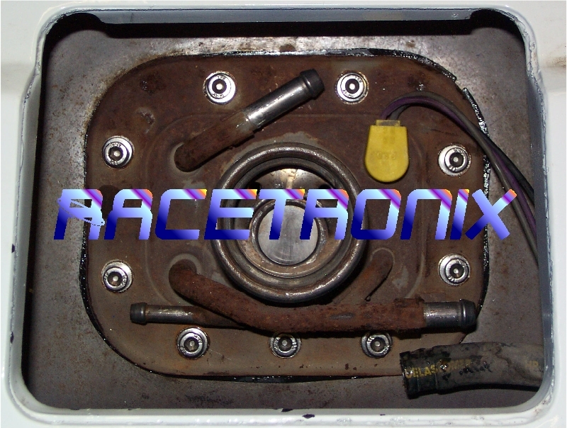 racetronix c fuel pump assembly performance kit most c4 tank gaskets are in pretty bad shape and will not provide a proper vapor seal the factory black oxide sender bolts are typically rusted and their